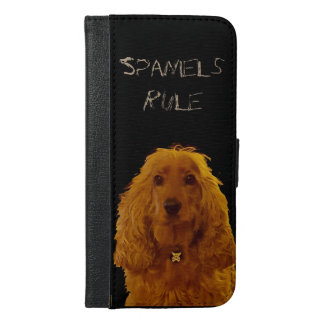 Spaniels Rule i-phone 6/6s wallet case