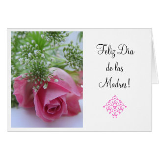 Spanish:3 Dia de la Madre /Mother's day Card