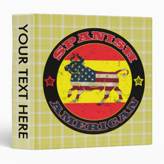 Spanish American Bull Binder