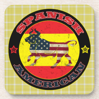 Spanish American Bull Coaster Set