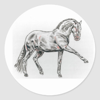 Spanish Andalusian Horse Stickers
