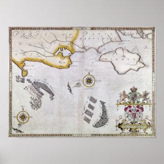 SPANISH ARMADA, 1588 2 POSTER