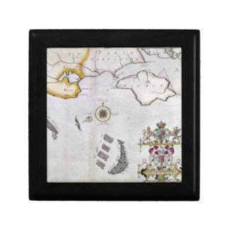 SPANISH ARMADA, 1588 2 TRINKET BOX
