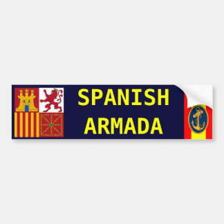 SPANISH ARMADA BUMPER STICKER