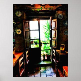 Spanish Bar in Granada Poster