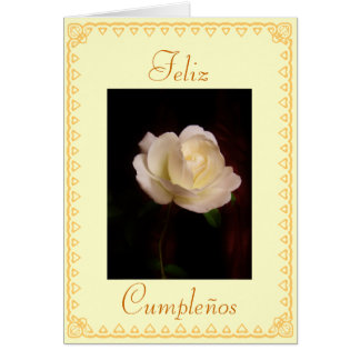 Spanish Birthday Cumpleanos Cards