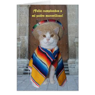 Spanish Birthday for Dad Card