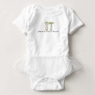 Spanish-Blacksmith Baby Bodysuit