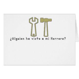 Spanish-Blacksmith Card