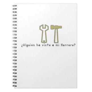 Spanish-Blacksmith Notebook