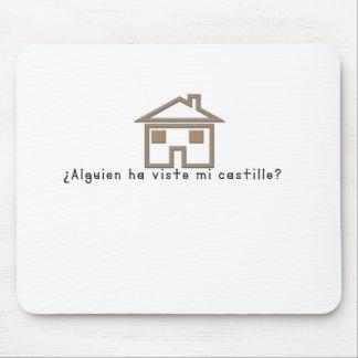 Spanish-Castle Mouse Pad