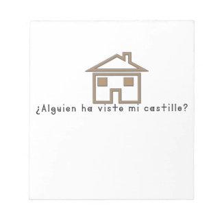 Spanish-Castle Notepad