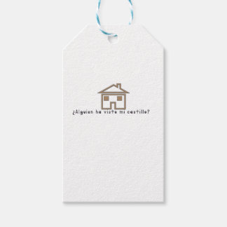 Spanish-Castle Pack Of Gift Tags