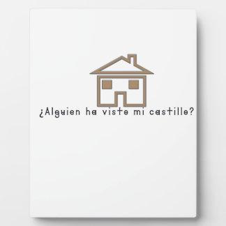 Spanish-Castle Plaque