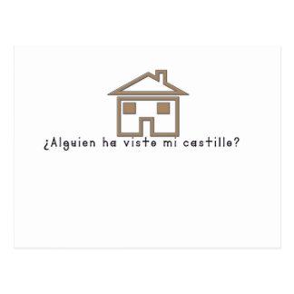 Spanish-Castle Postcard