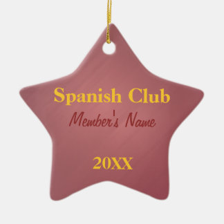 Spanish Club, Foreign Language Club Ornaments