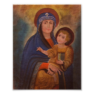 Spanish Colonial Madonna Poster