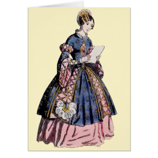 ~ SPANISH COSTUME ~ Personalised for CATHERINE ~ Card