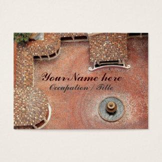 Spanish Courtyard Business Card