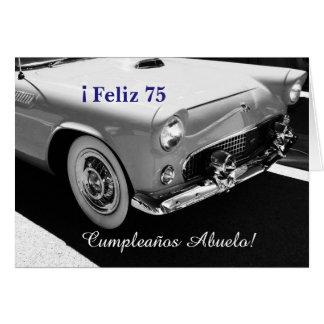 Spanish: Cumpleanos Abuelo/ grandpa's birthday Cards