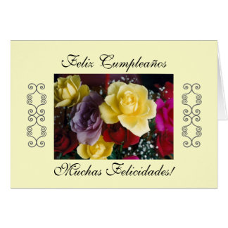Spanish: Cumpleaños/ Birthday Cards