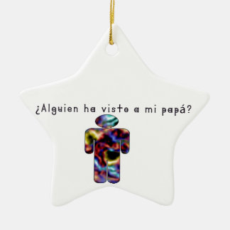 Spanish-Daddy Ceramic Ornament