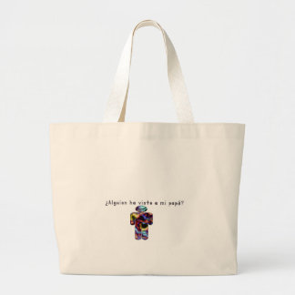 Spanish-Daddy Large Tote Bag