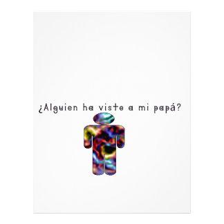 Spanish-Daddy Letterhead