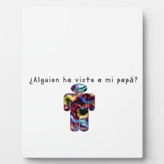 Spanish-Daddy Plaque