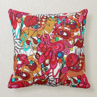 Spanish dance throw pillow