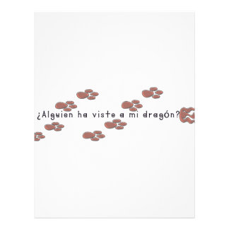 Spanish-Dragon Letterhead