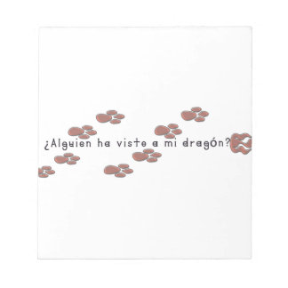 Spanish-Dragon Notepad