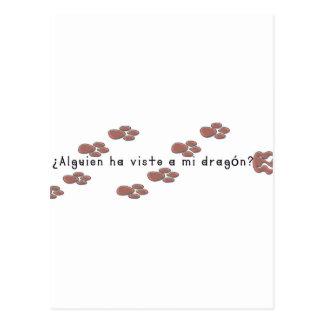 Spanish-Dragon Postcard