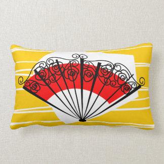 Spanish Fan pillow lumbar