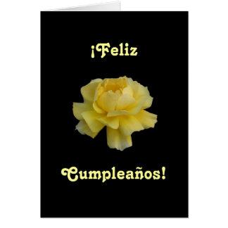 Spanish: Feliz Cumpleaños- birthday Greeting Card