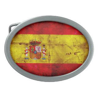 Spanish Flag Belt Buckles