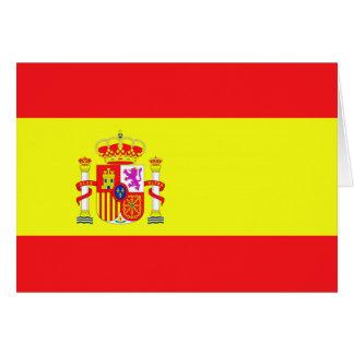 Spanish Flag Card