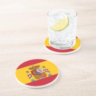 Spanish flag coaster