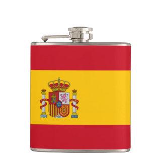 Spanish flag Flask