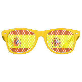 Spanish Flag Fun Sunglasses