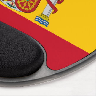 Spanish flag gel mouse pad