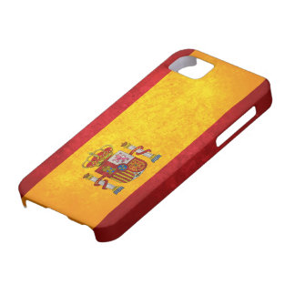 Spanish Flag iPhone 5 Covers