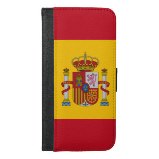 Spanish flag iPhone 6/6s plus wallet case