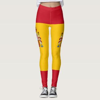 Spanish flag leggings