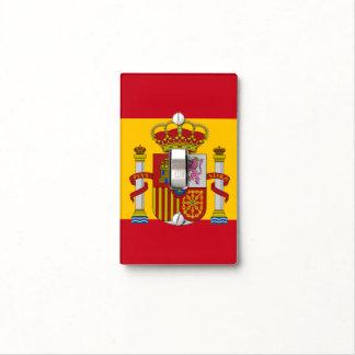 Spanish flag light switch cover