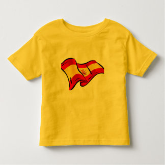 Spanish flag of Spain gifts for Spaniards Toddler T-shirt
