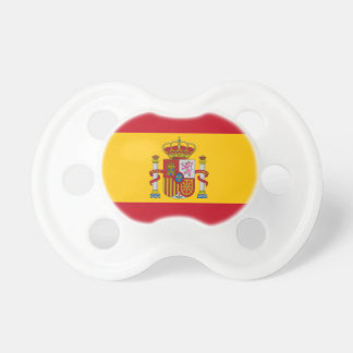 Spanish flag pacifier