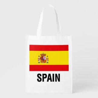 Spanish Flag Reusable Grocery Bag