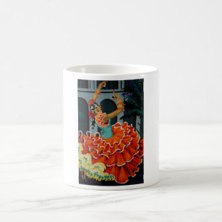 Spanish Flamenco Dancer Mug