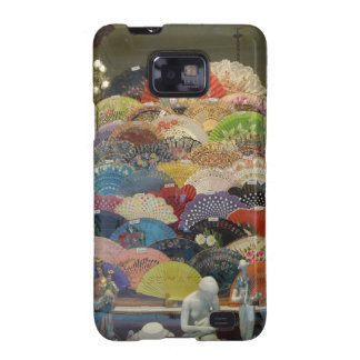 Spanish Flamenco Fans - Case Galaxy S2 Covers